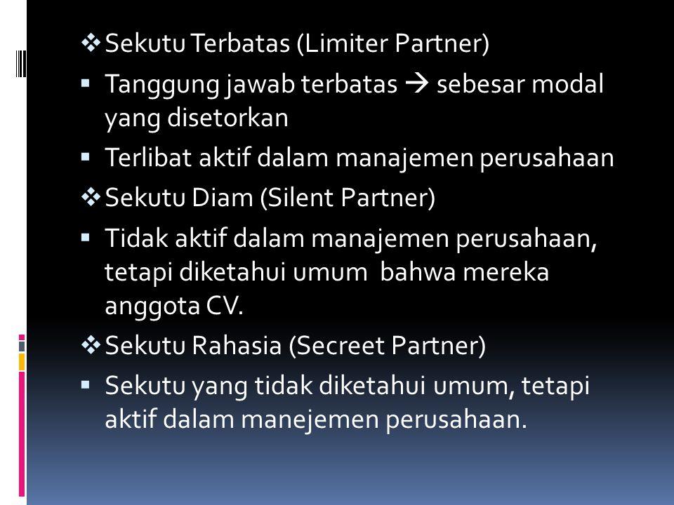 Sekutu Terbatas (Limiter Partner)