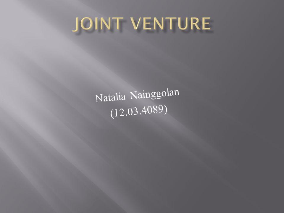 Joint Venture Natalia Nainggolan (12.03.4089)