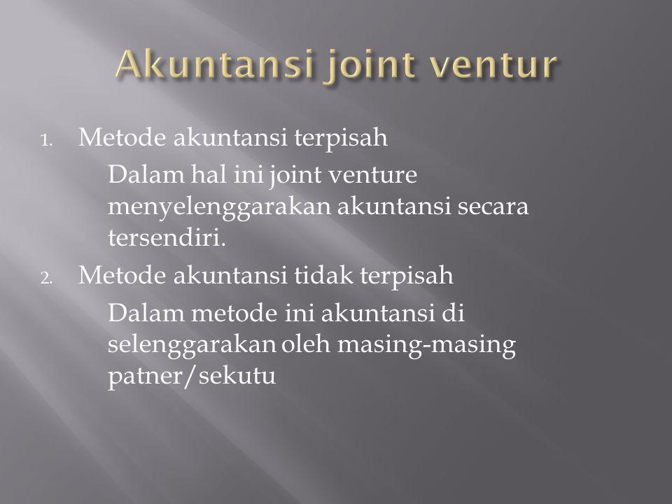 Akuntansi joint ventur