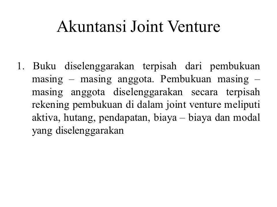 Akuntansi Joint Venture