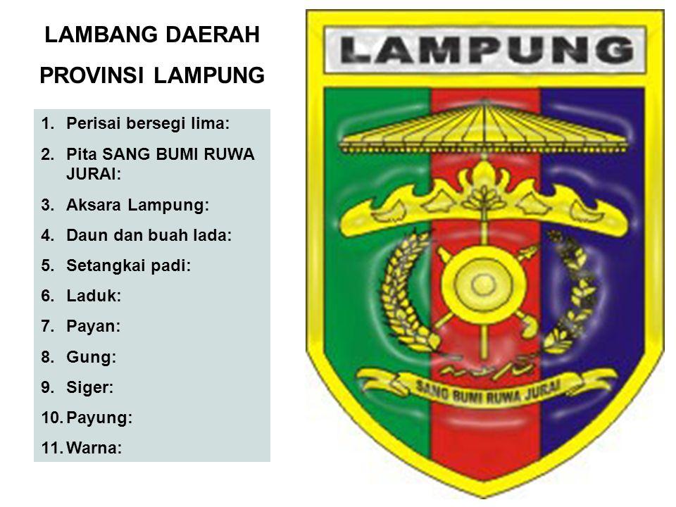 LAMBANG DAERAH PROVINSI LAMPUNG