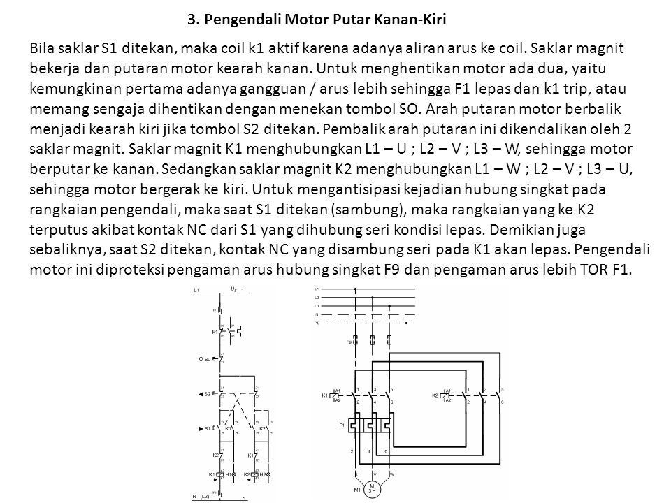 3. Pengendali Motor Putar Kanan-Kiri