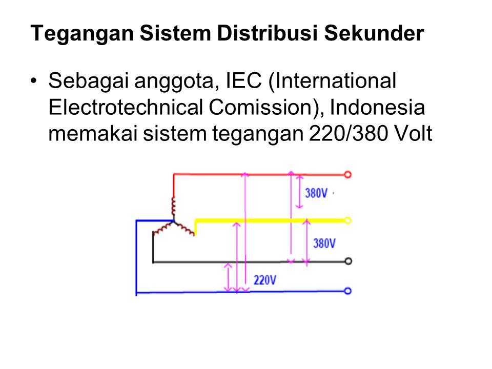 Tegangan Sistem Distribusi Sekunder