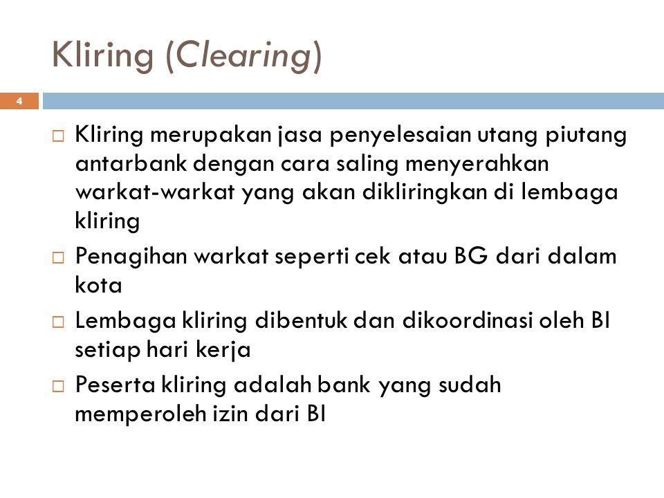 Kliring (Clearing)
