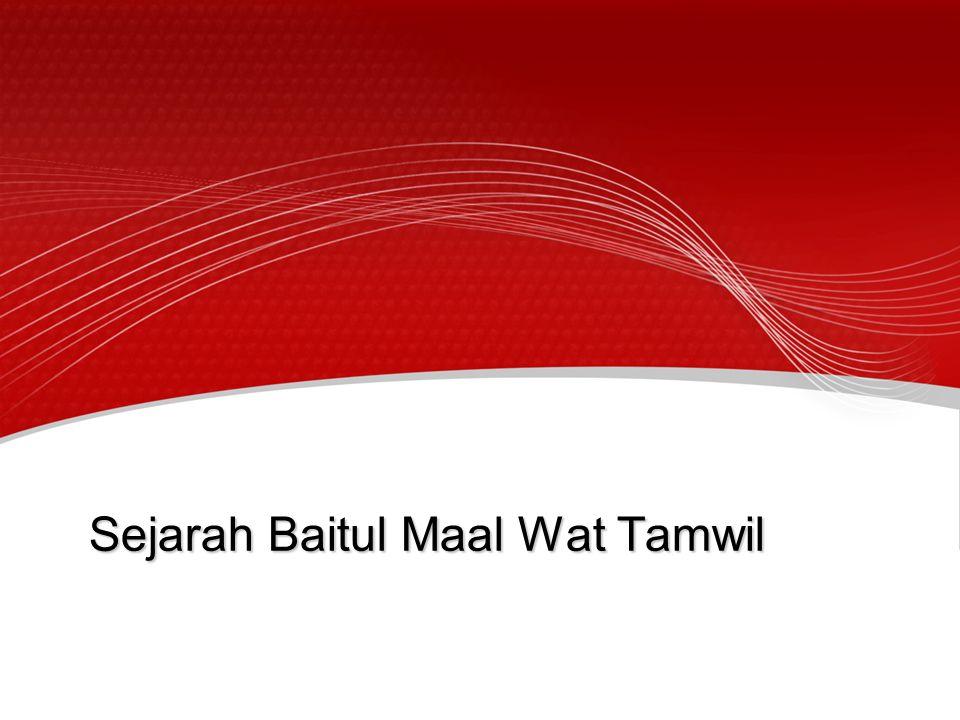 Sejarah Baitul Maal Wat Tamwil