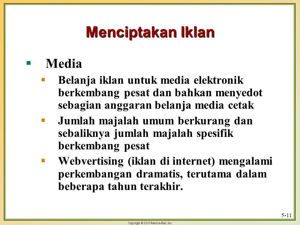 Menciptakan Iklan Media
