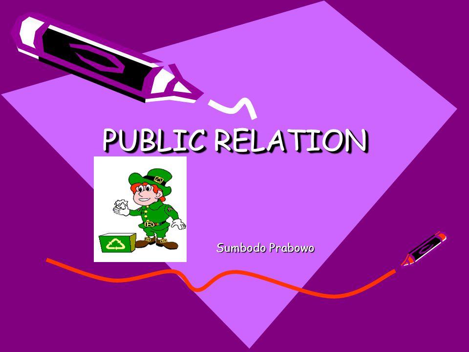 PUBLIC RELATION Sumbodo Prabowo
