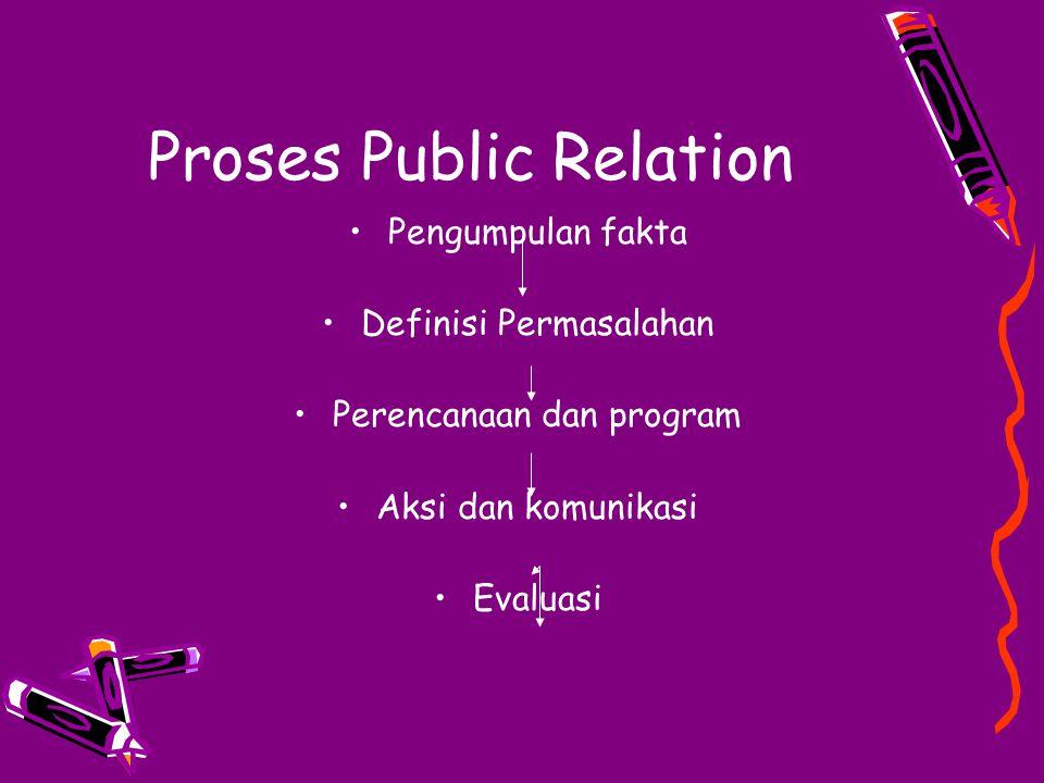 Proses Public Relation