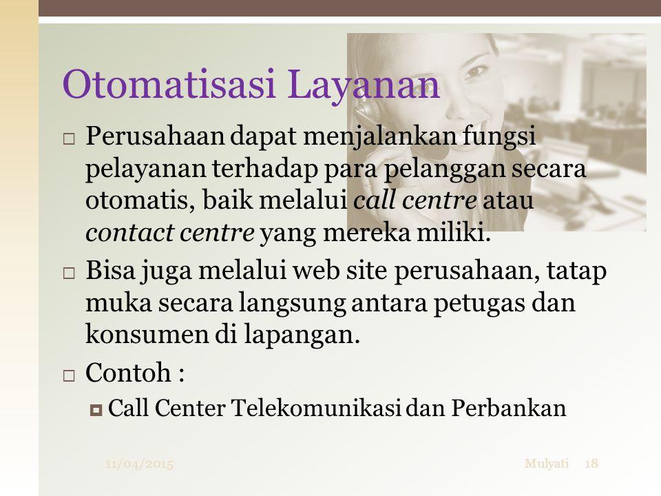 Otomatisasi Layanan