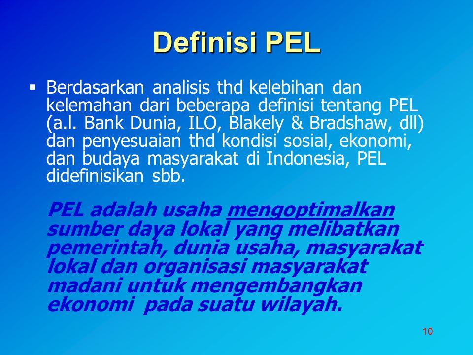 Definisi PEL