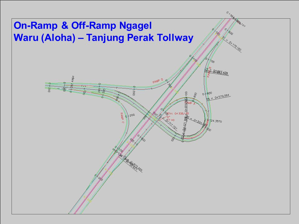 On-Ramp & Off-Ramp Ngagel