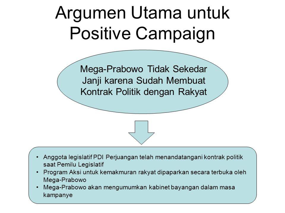 Argumen Utama untuk Positive Campaign