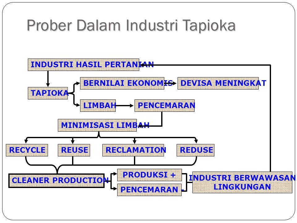 Prober Dalam Industri Tapioka