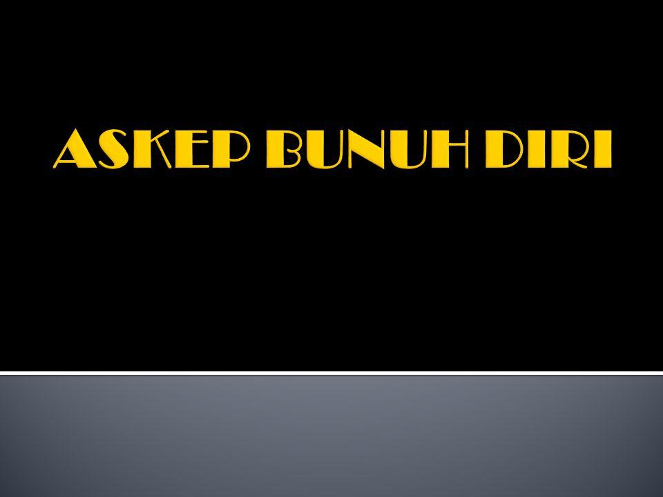 ASKEP BUNUH DIRI