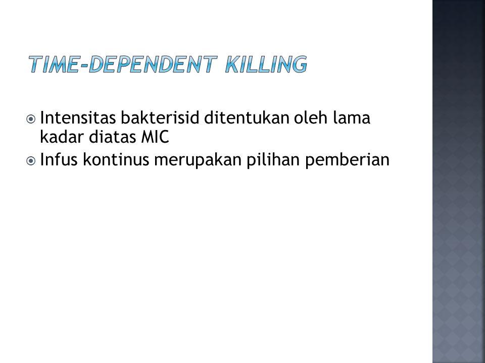 Time-Dependent Killing