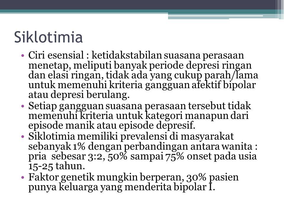 Siklotimia
