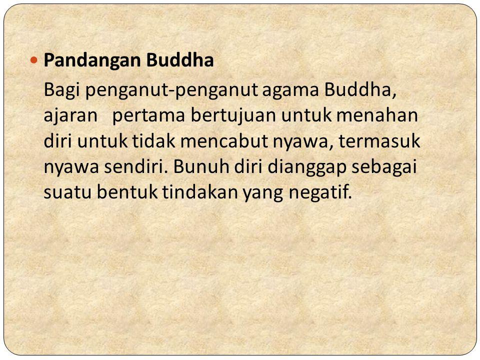 Pandangan Buddha