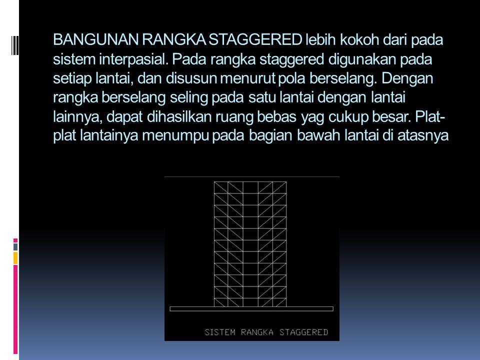BANGUNAN RANGKA STAGGERED lebih kokoh dari pada sistem interpasial