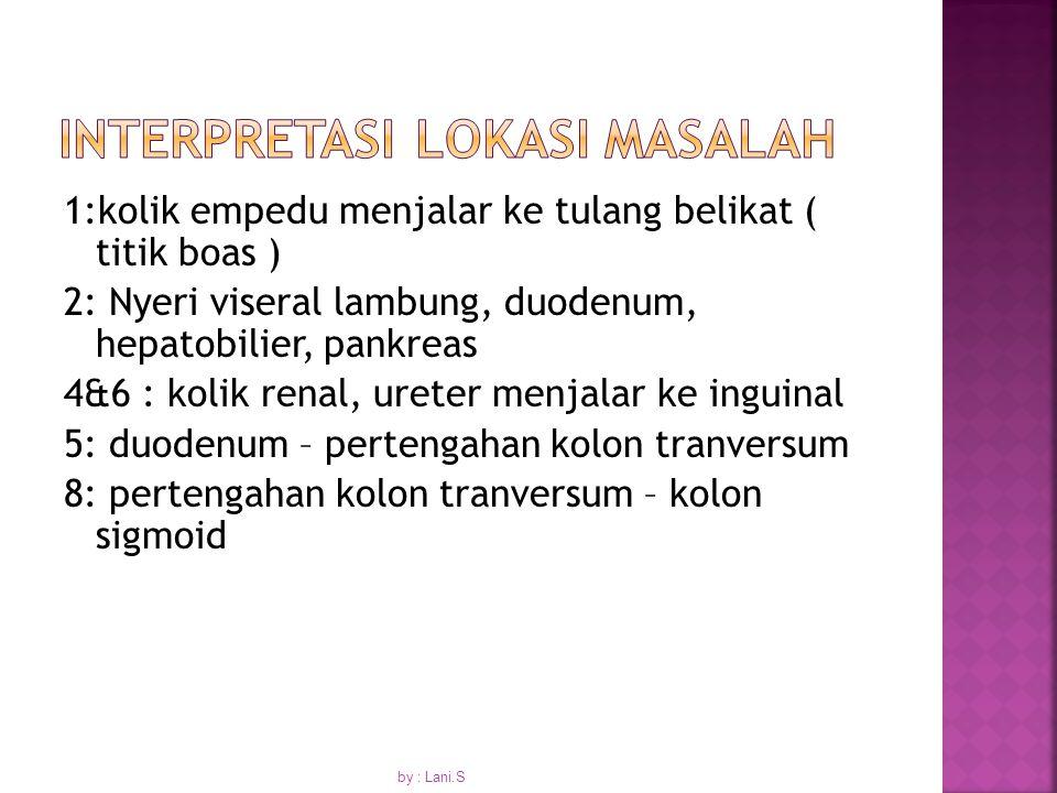 INTERPRETASI LOKASI MASALAH