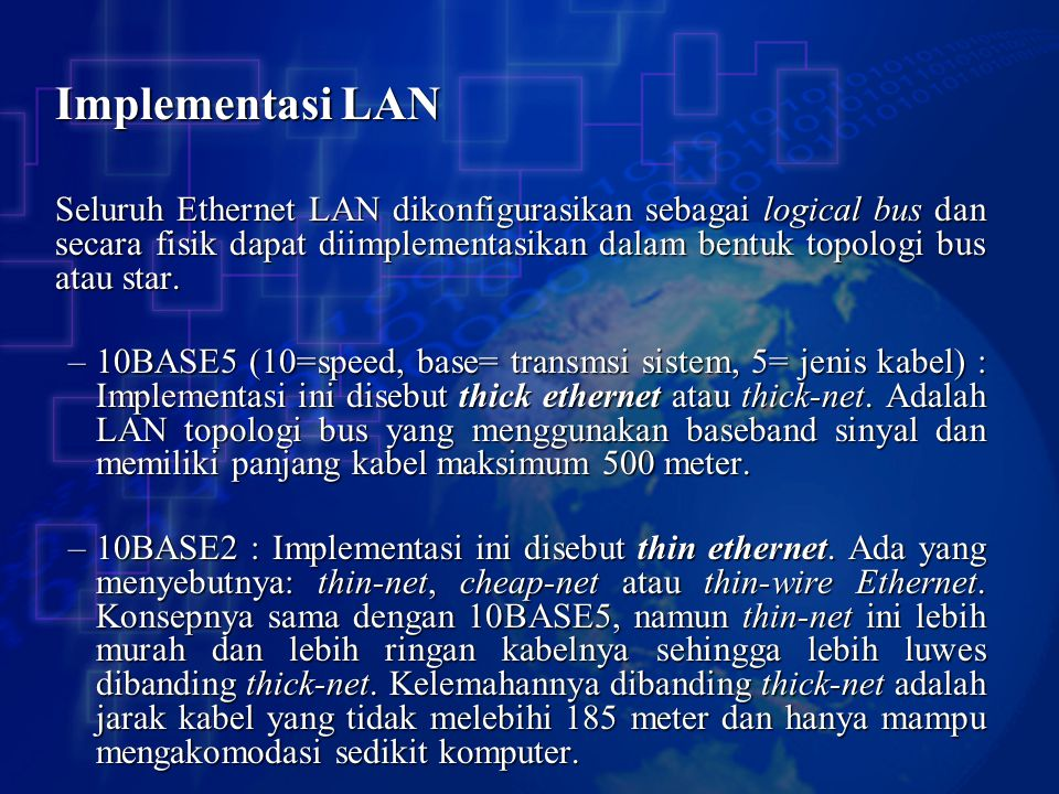 Implementasi LAN