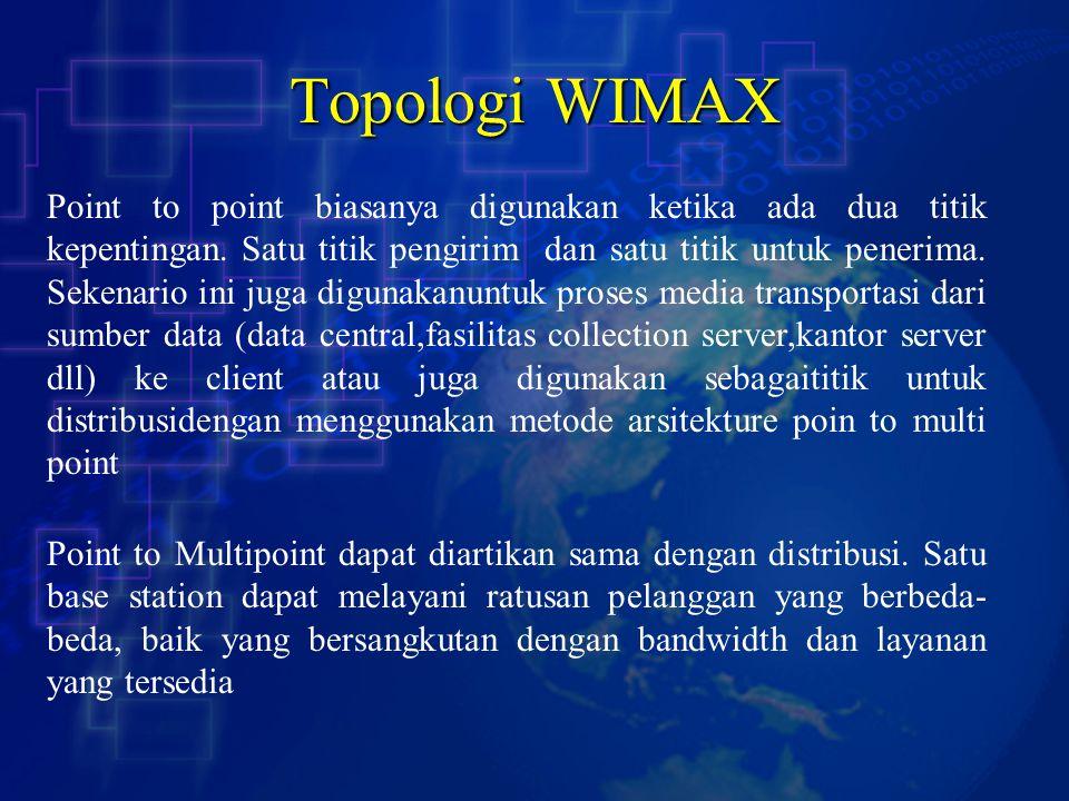 Topologi WIMAX