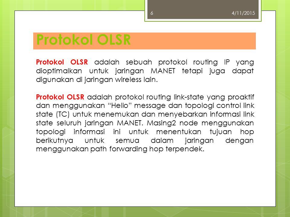 4/10/2017 Protokol OLSR.