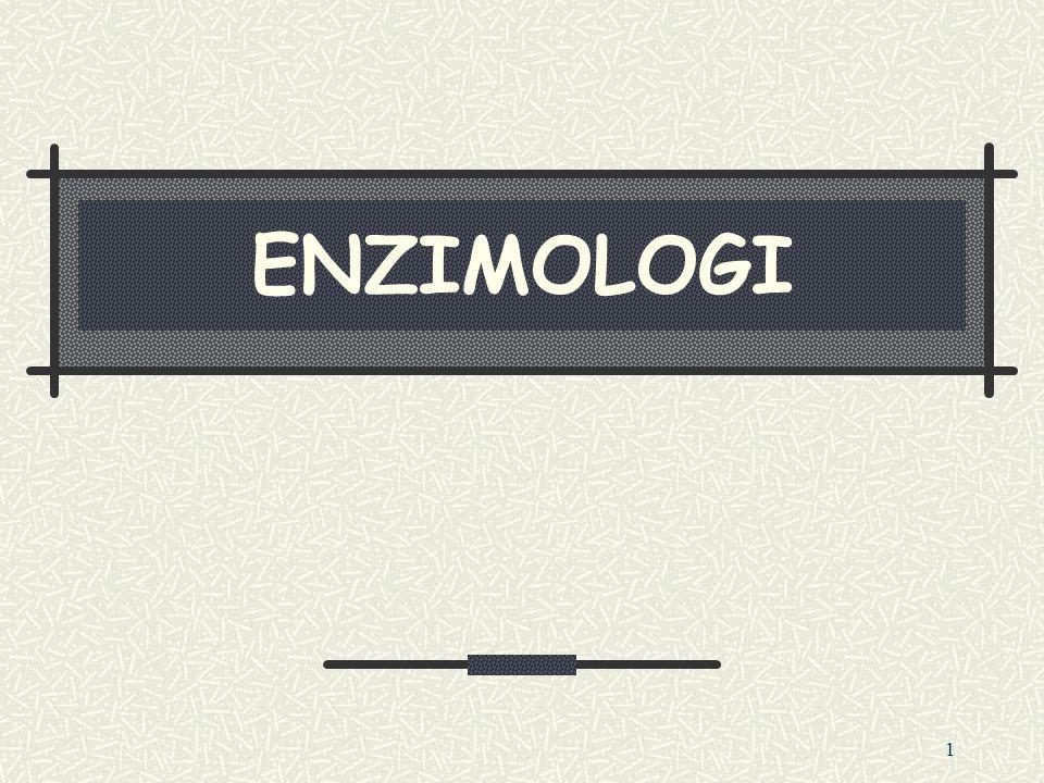 ENZIMOLOGI