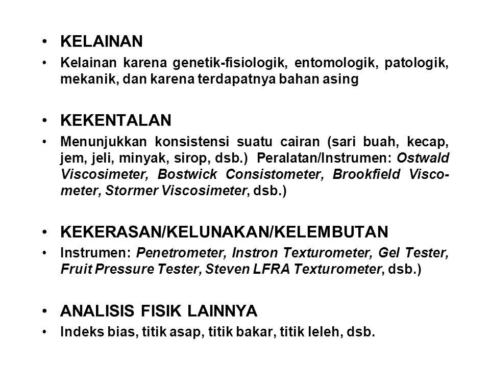 KEKERASAN/KELUNAKAN/KELEMBUTAN