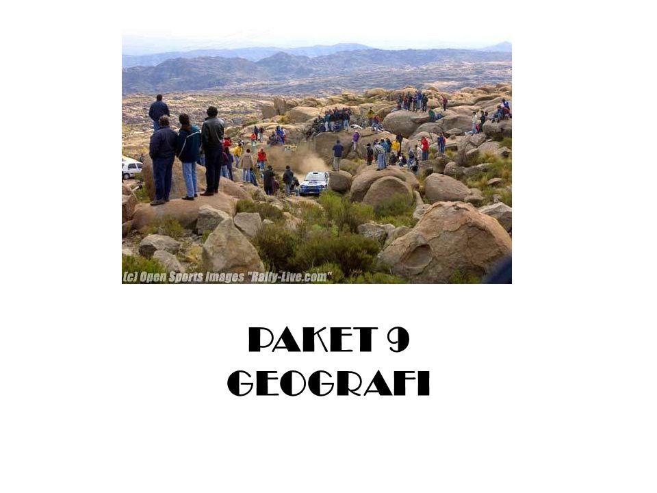 PAKET 9 GEOGRAFI