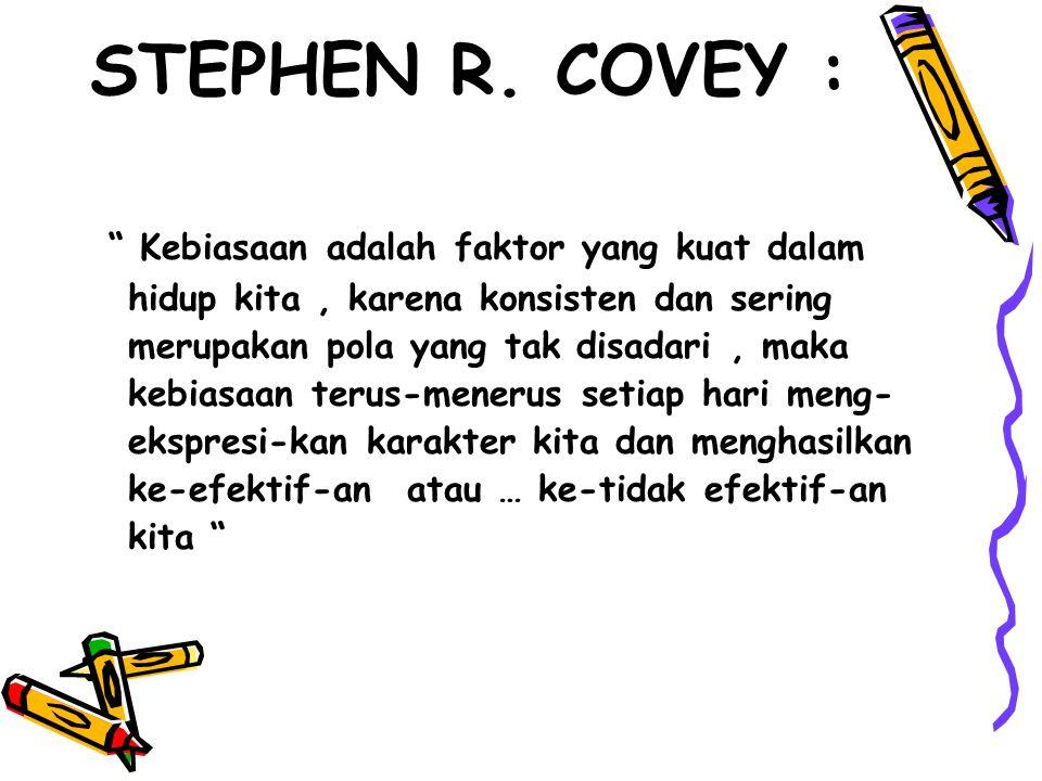 STEPHEN R. COVEY :