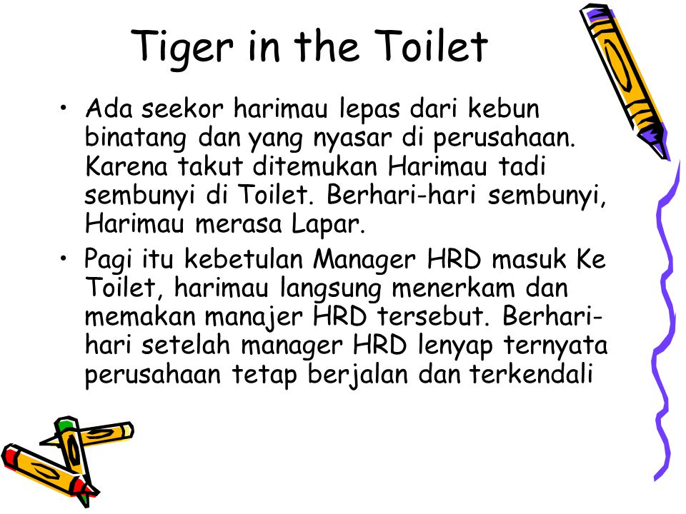 Tiger in the Toilet