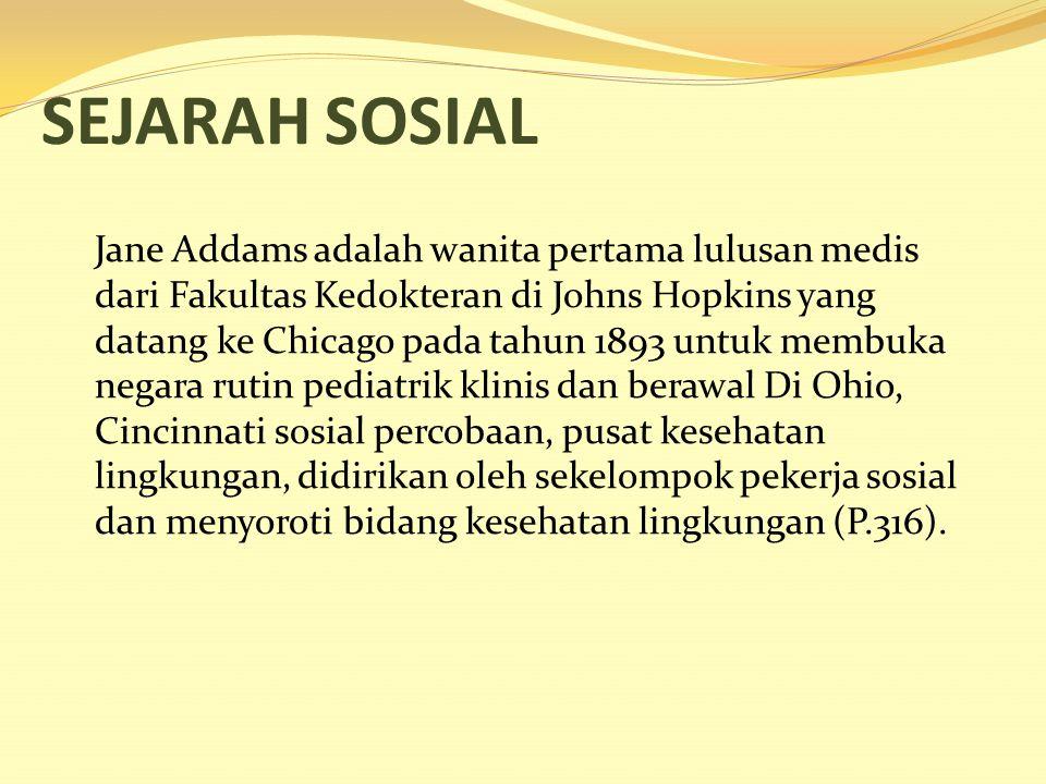 SEJARAH SOSIAL