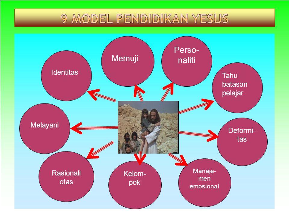 9 Model Pendidikan Yesus