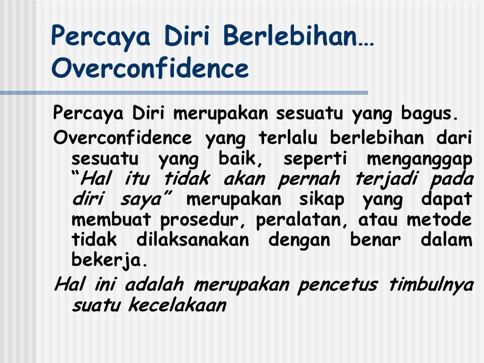 Percaya Diri Berlebihan… Overconfidence