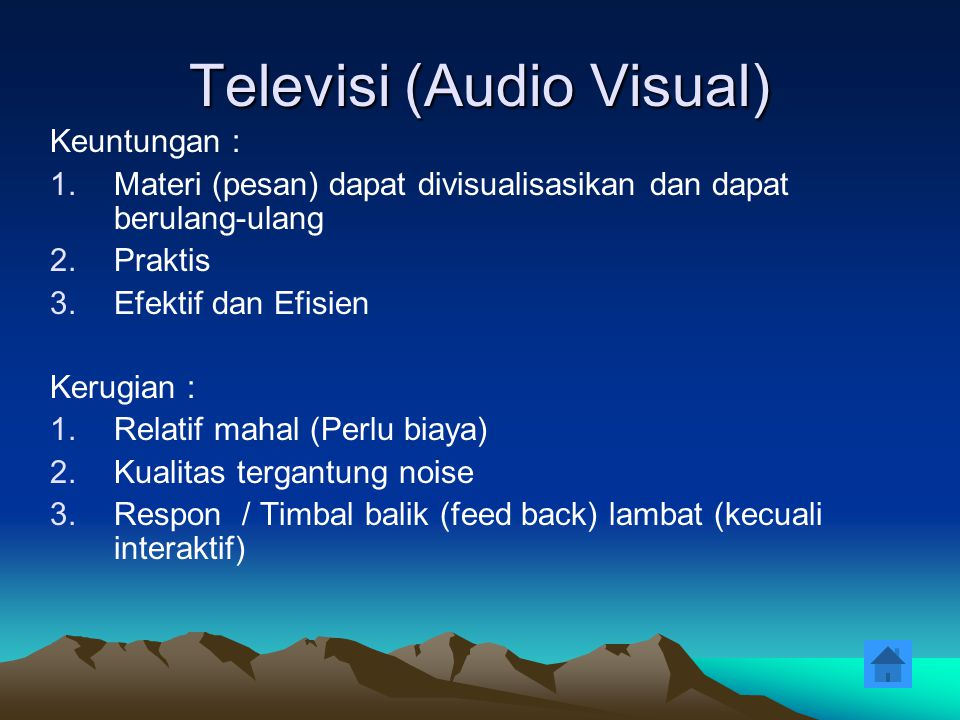 Televisi (Audio Visual)