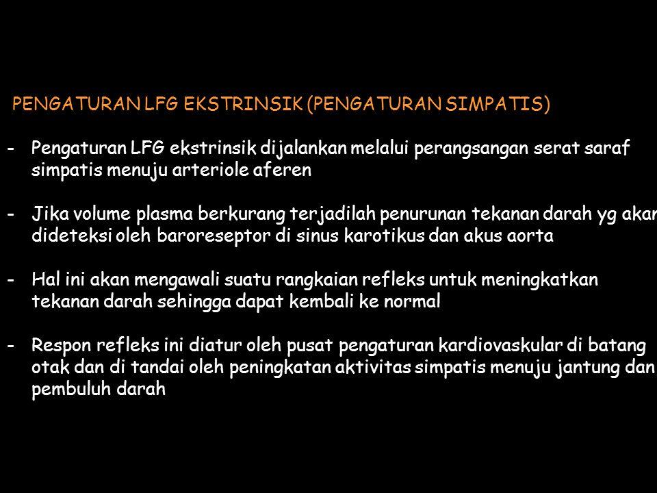PENGATURAN LFG EKSTRINSIK (PENGATURAN SIMPATIS)