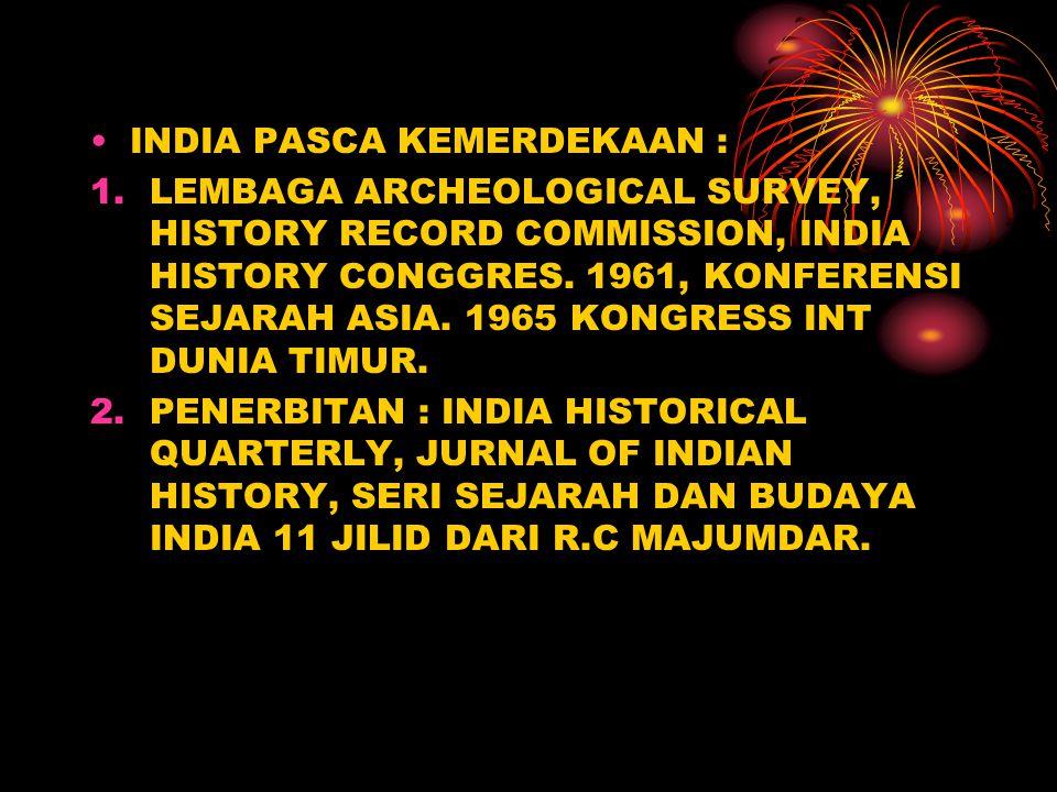 INDIA PASCA KEMERDEKAAN :