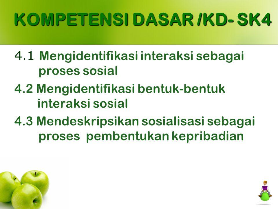 KOMPETENSI DASAR /KD- SK4