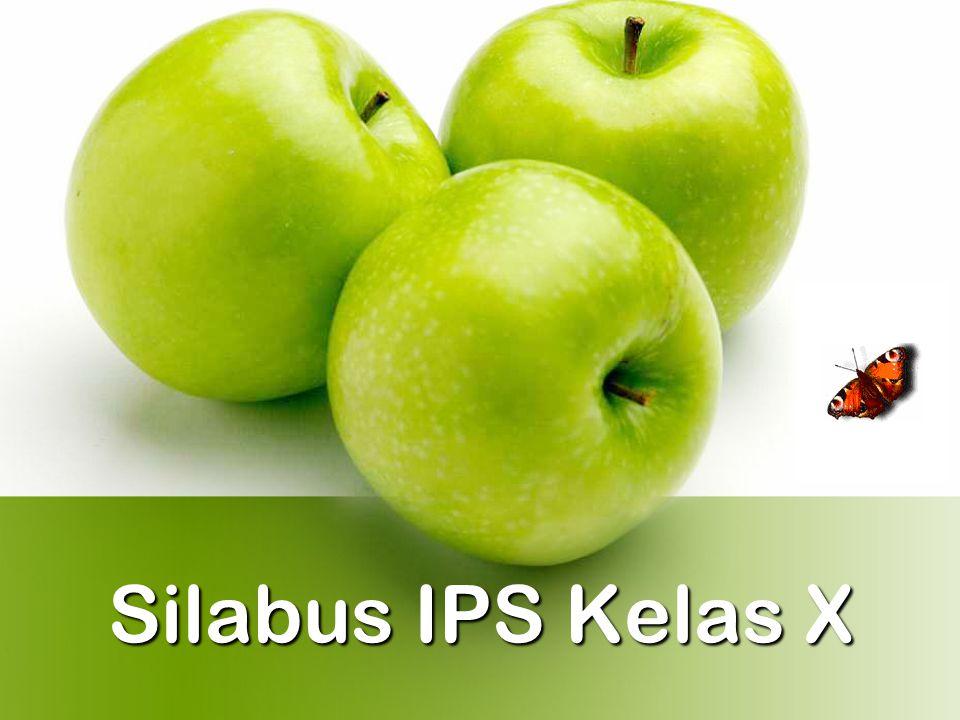 Silabus IPS Kelas X