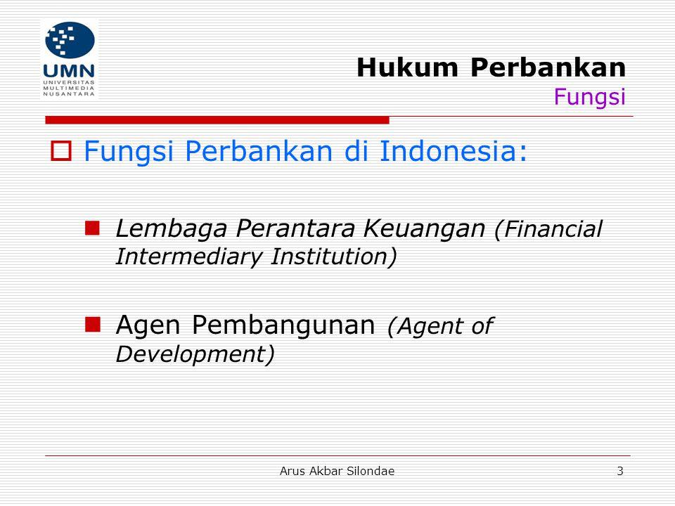 Hukum Perbankan Fungsi