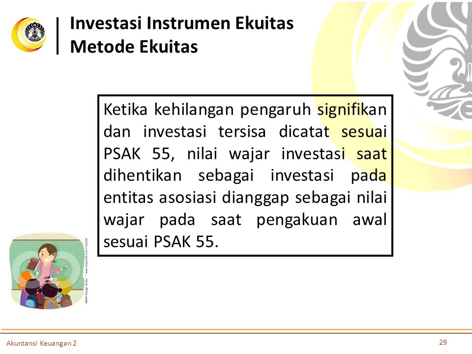 Investasi Instrumen Ekuitas Metode Ekuitas