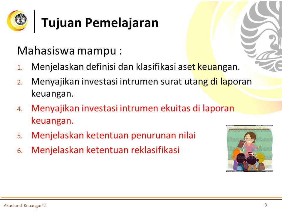 Tujuan Pemelajaran Mahasiswa mampu :
