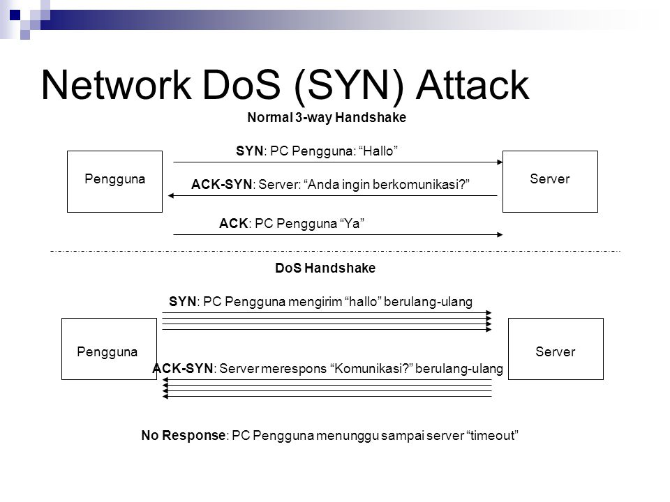 Network DoS (SYN) Attack