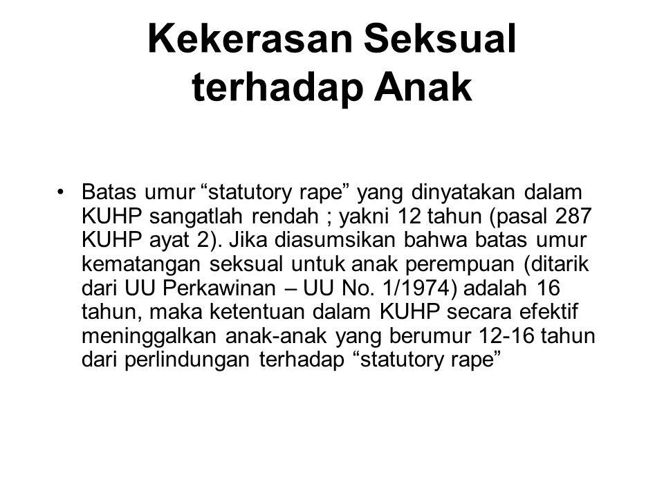 Kekerasan Seksual terhadap Anak