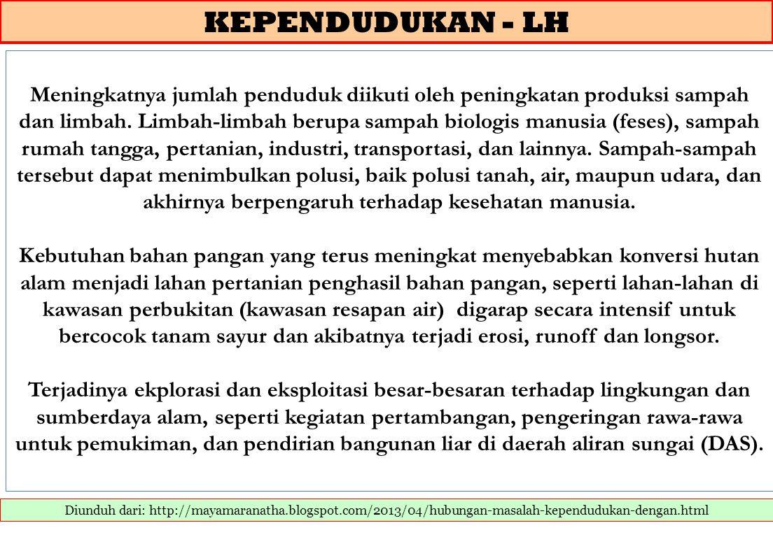 KEPENDUDUKAN - LH