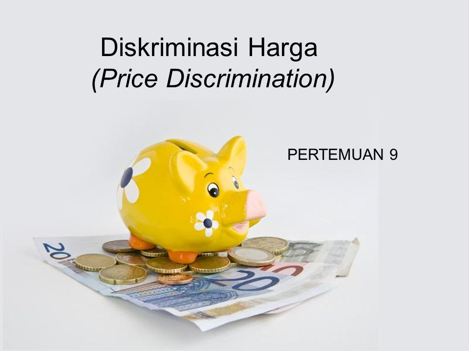 (Price Discrimination)