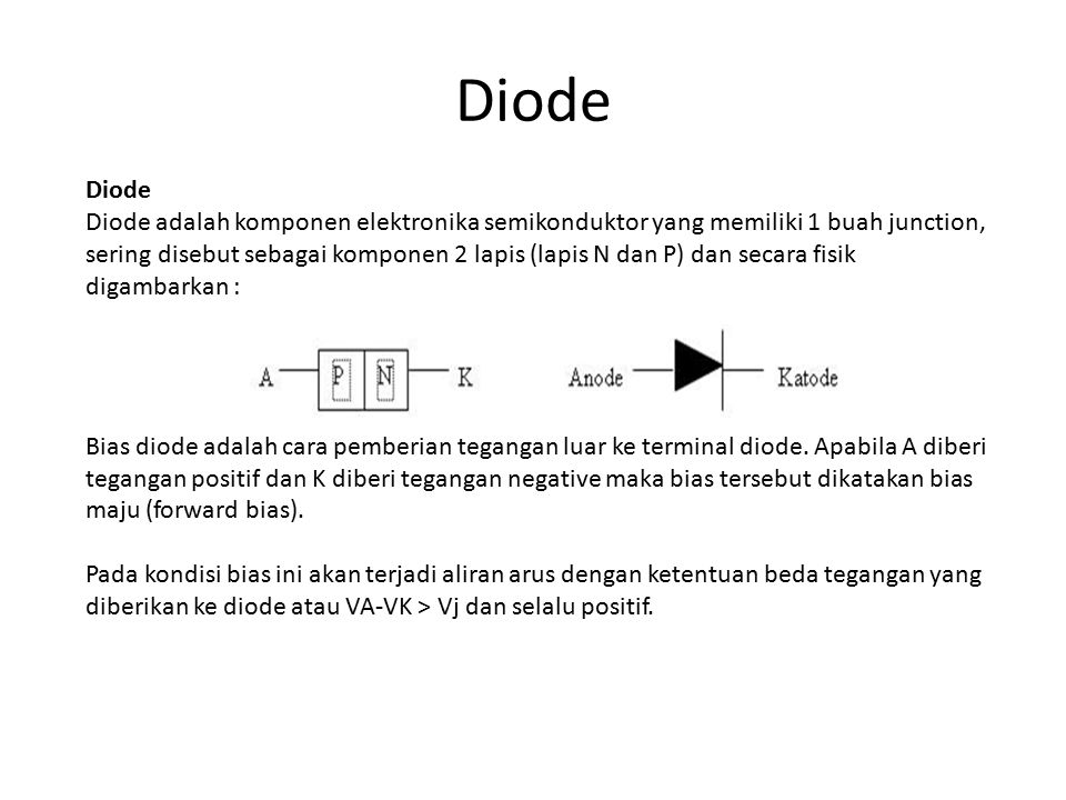 Diode Diode.