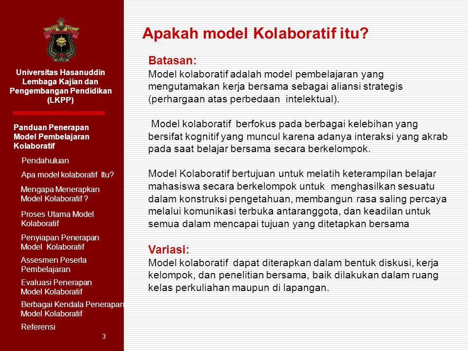Apakah model Kolaboratif itu
