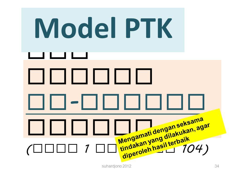 PTK adalah in-reijen Metode (Buku 1 halaman 104)
