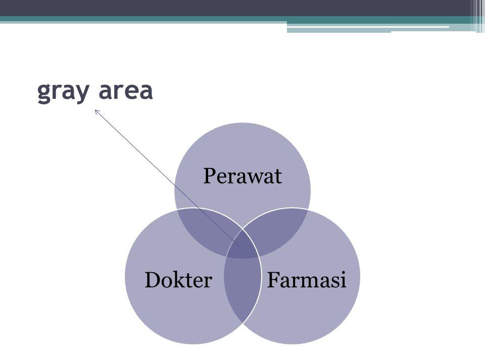 gray area Perawat Farmasi Dokter